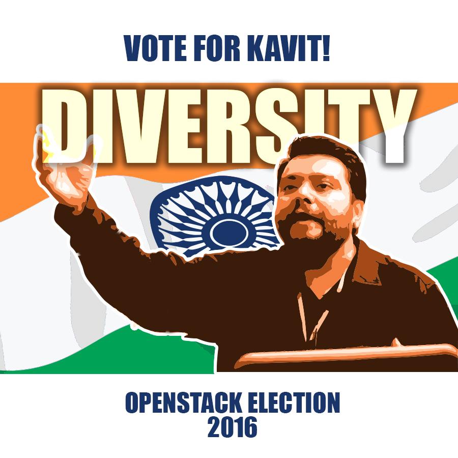 Aptira OpenStack - Vote for Kavit - Diversity Propagana