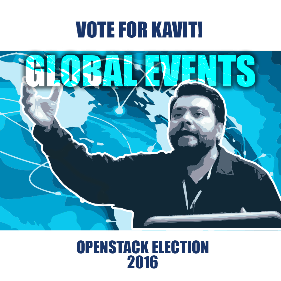 Aptira OpenStack - Vote For Kavit - Global Events Propaganda Image