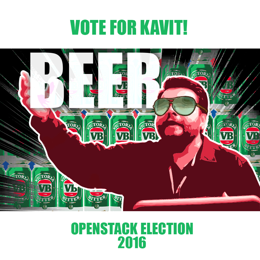 Aptira OpenStack - Vote For Kavit - Beer