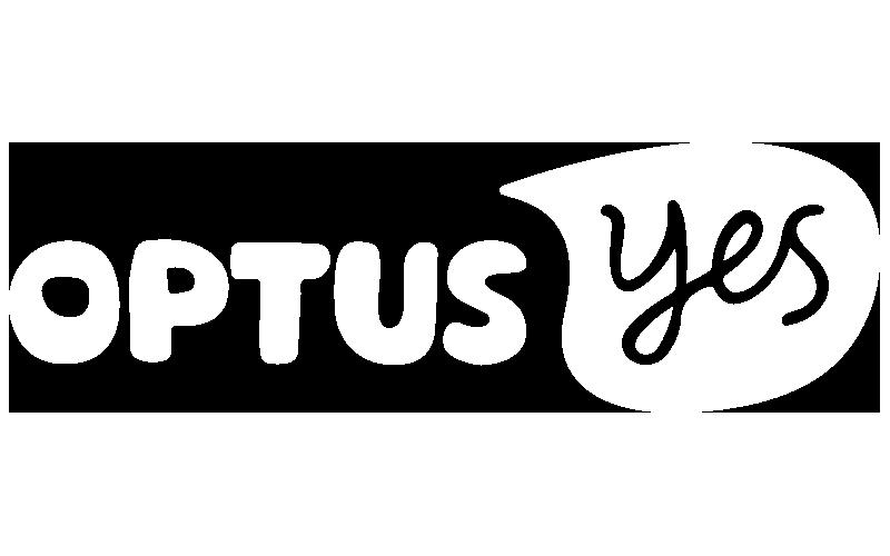 Aptira - Optus Logo White