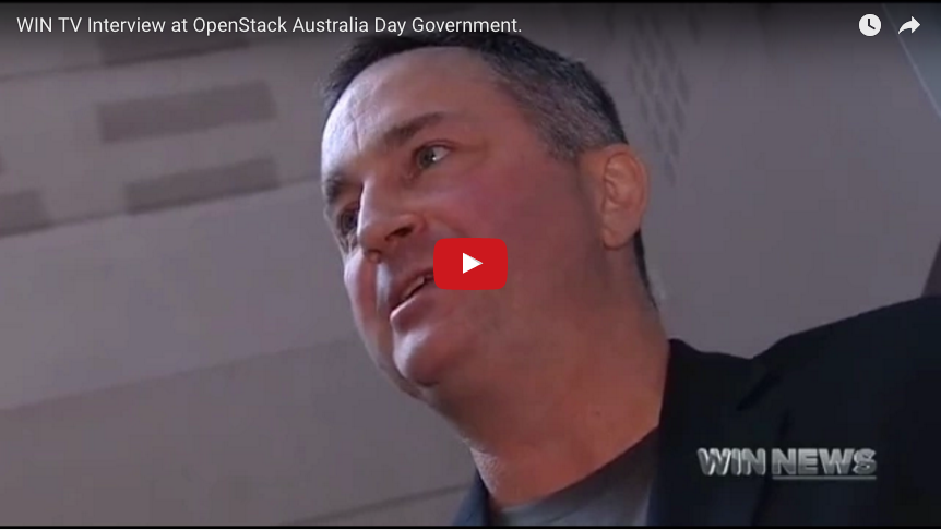 Tristan Goode Interview WIN News Canberra OpenStack Government