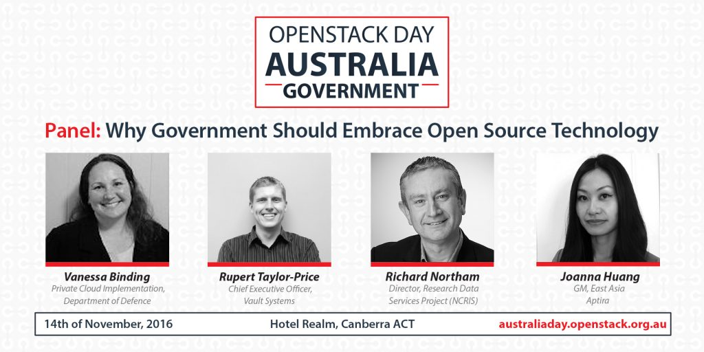 OpenStack Australia Day Government Panel