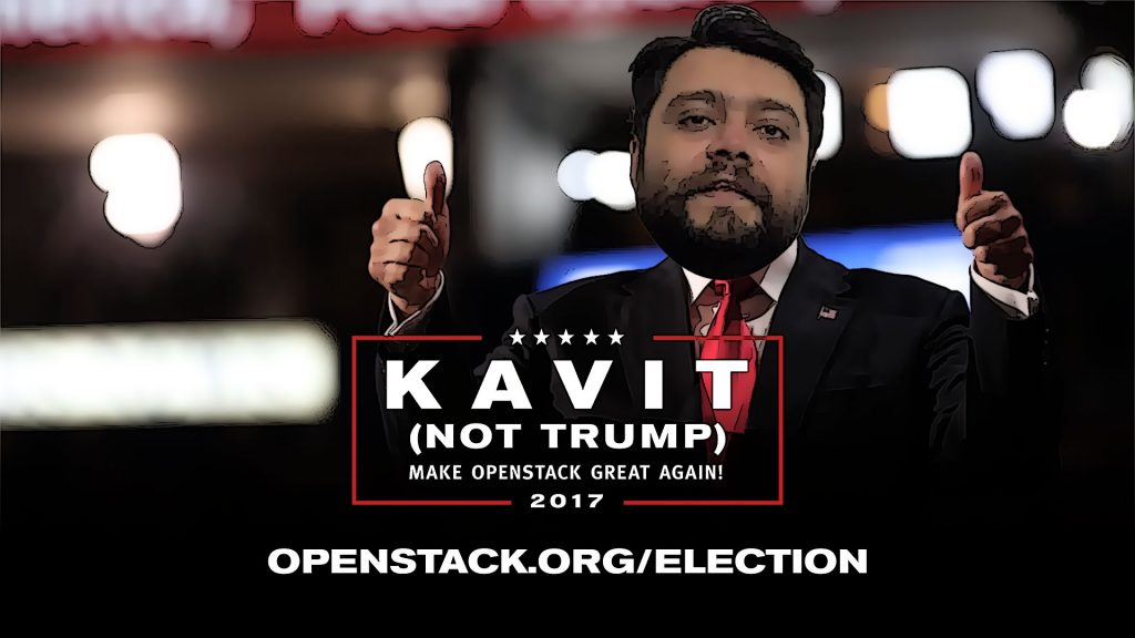 Not Trump - OpenStack Election 2017