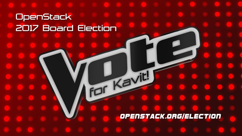 The voice of users and operators - OpenStack Election 2017