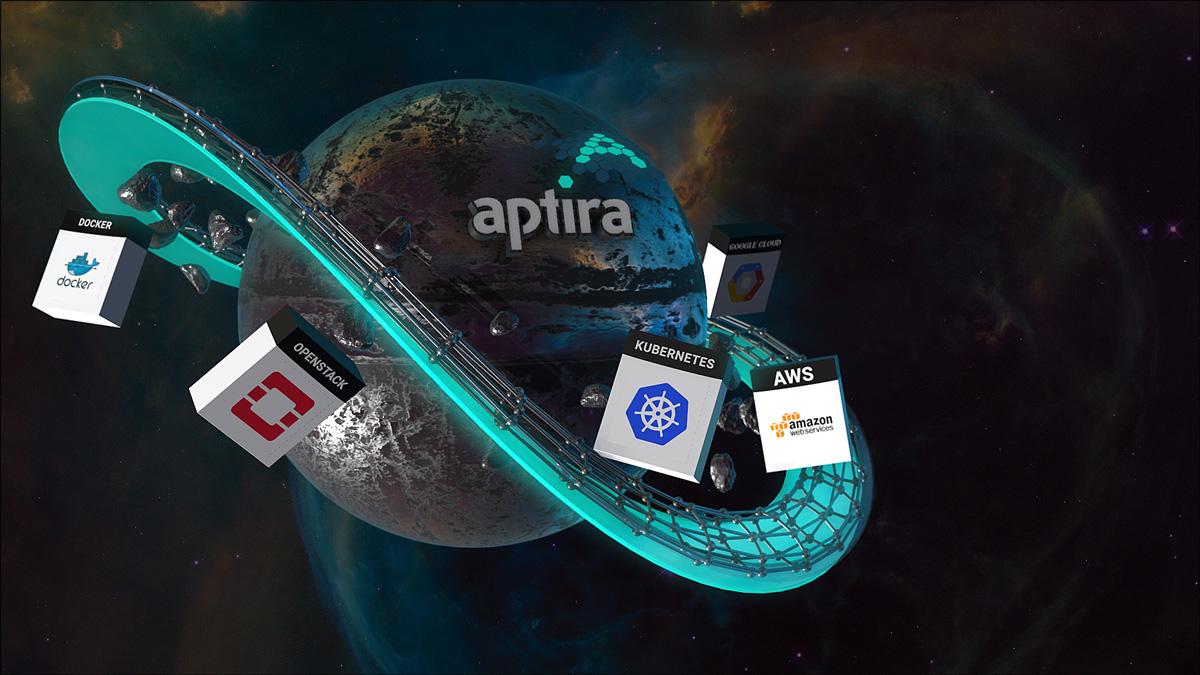 Aptira Planet: Cloud Platforms, Remote Managed Cloud, Hybrid Cloud, Managed Container Orchestration