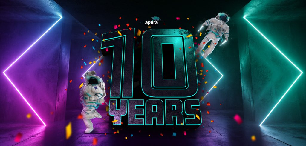 Aptira 10 year birthday 10% off sale